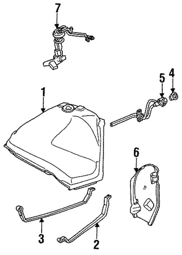 GM 25094114  Fuel Sending Unit