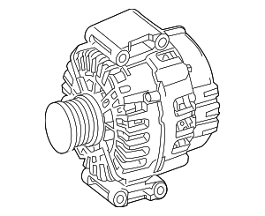 Alternator - Mercedes-Benz (000-906-03-22)