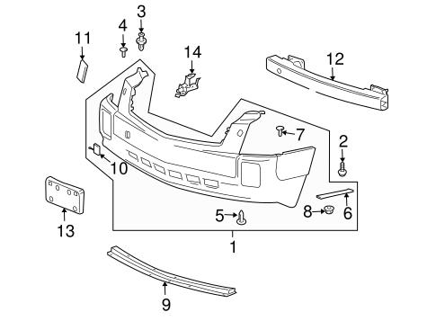 2004 Cadillac Srx Fender Parts Diagram Wiring Diagrams For Dummies