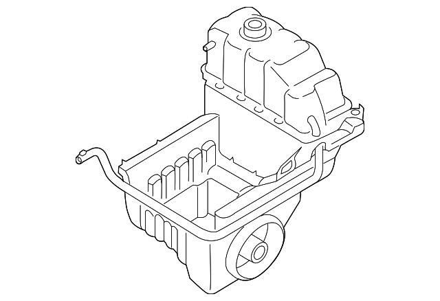 genuine ford expansion tank bl3z