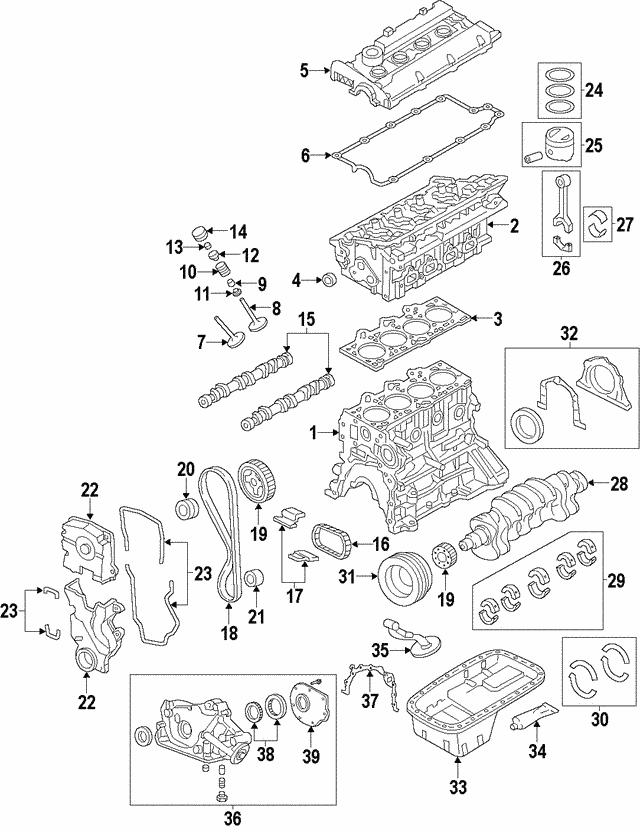 Kia 24321-23780 Engine Timing Chain
