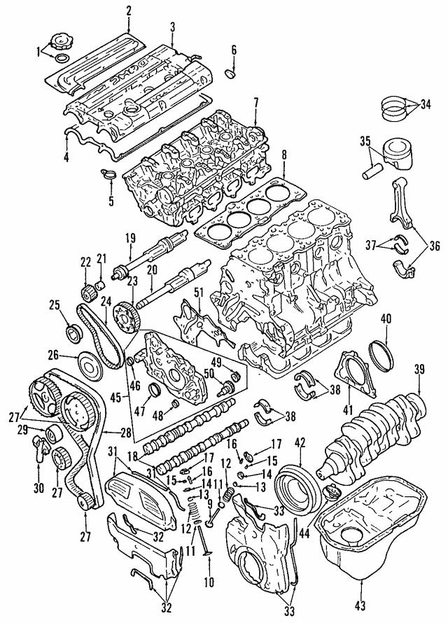 Mitsubishi Cylinder Head Md334948