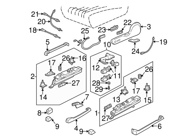 1985 2002 Gm Adjust Motor 22138358