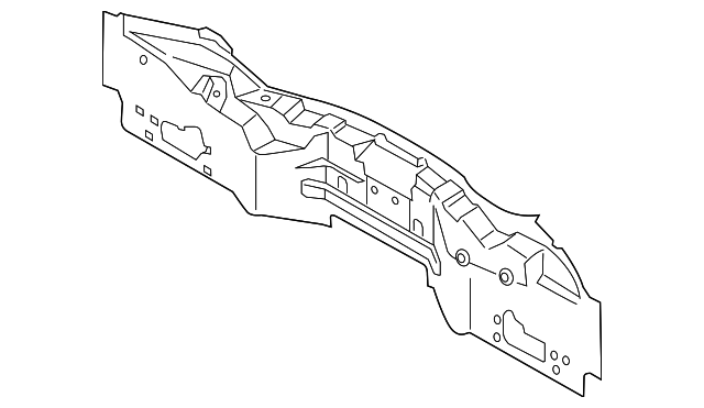 Details About Genuine Ford Rear Body Panel Ds7z5440320g: Ford Focus Rear Door Parts Diagram At Downselot.com
