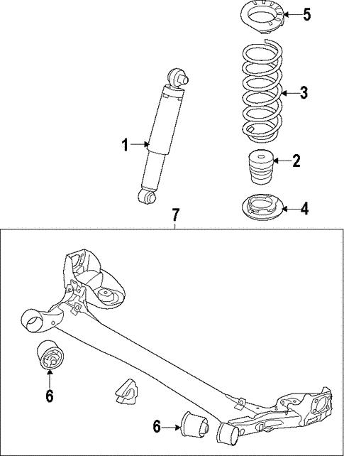 Marvelous Rear Suspension For 2017 Kia Forte Kia Parts Accessories Wiring Database Cominyuccorg