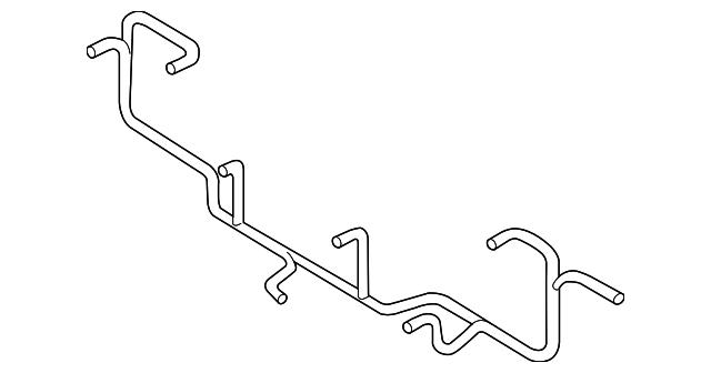 audi wire harness  4g5