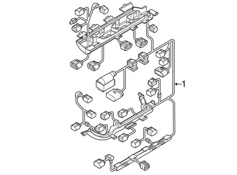Wiring Harness For 2018 Volkswagen Jetta