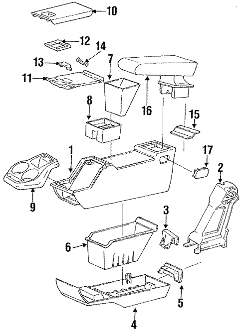 Body/Center for 1997 Ford Ranger #1