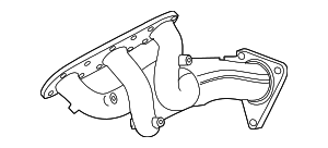 Exhaust Manifold - Nissan (140D2-1PM0C)