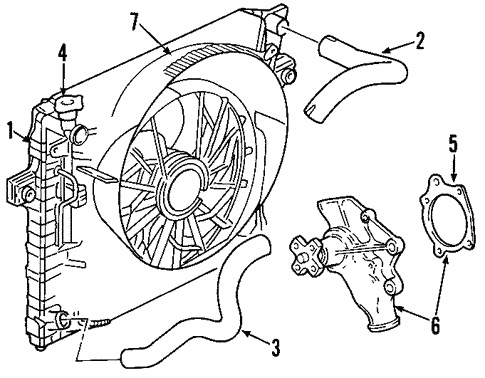 Water Pump For 2004 Jeep Grand Cherokee