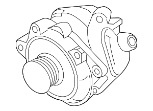 Alternator - Nissan (2310M-9HU0BRW)