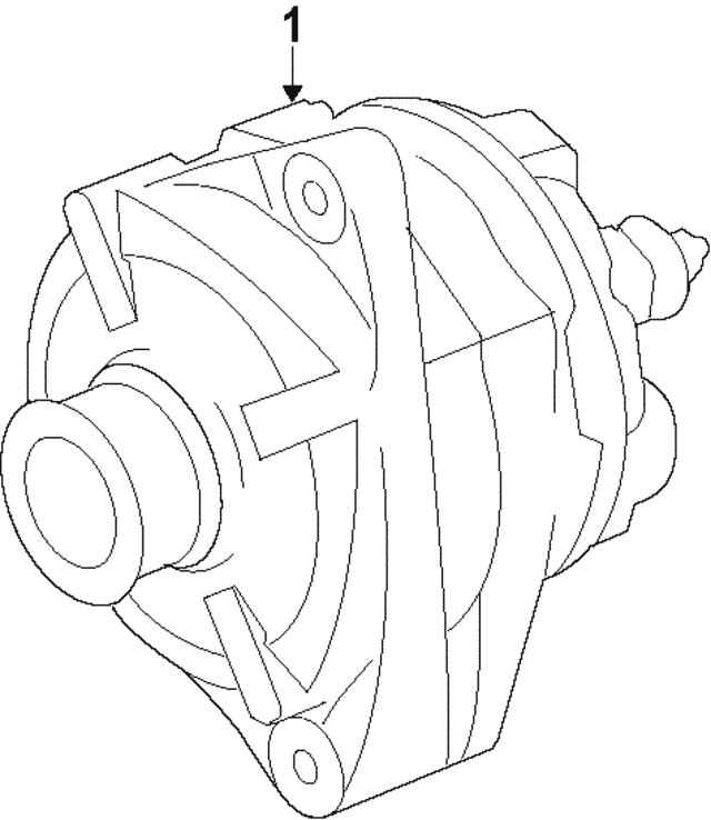 Alternator - Mercedes-Benz (000-906-05-06)