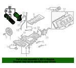 Oil Filter Housing - Audi (079-115-401-AA)