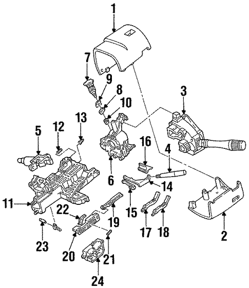 Ignition Lock For 1997 Mercury Sable