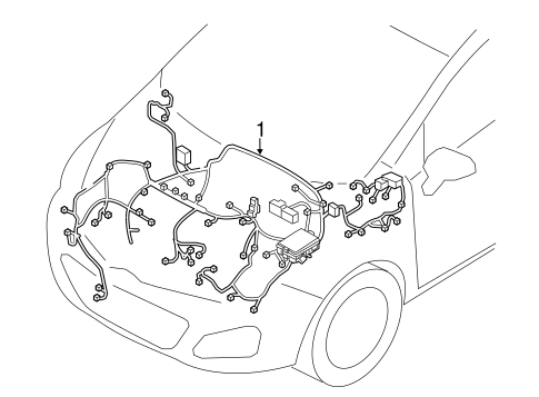 Wiring Harness For 2014 Kia Rio