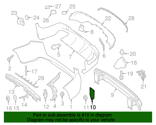 Impact bar plate mercedes benz 253 616 13 00 factory oem for Mercedes benz parts by vin number
