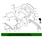 Tailpipe Extension Bracket - Mercedes-Benz (253-885-26-01)