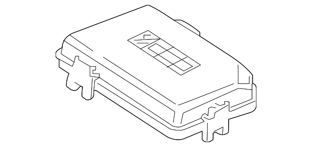 genuine oem fuse box cover