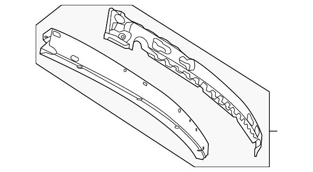 2008 dodge grand caravan front bumper