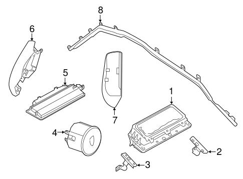 Air Bag Components For 2018 Porsche Panamera