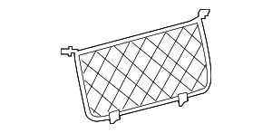 Cargo Net - Mercedes-Benz (292-860-00-74-9051)