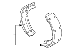 Brake Shoes - GM (19256491)