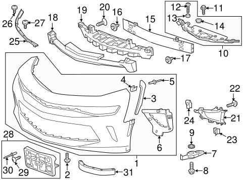 2014 350 Camaro Engine Diagram : help with part number for front bumper air deflector camaro6 ~ A.2002-acura-tl-radio.info Haus und Dekorationen