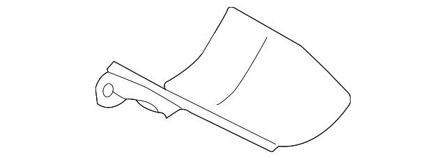 genuine volkswagen heat shield 1k0