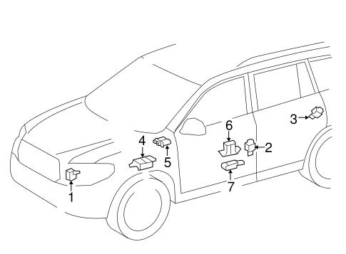 Air Bag Components For 2018 Toyota Highlander