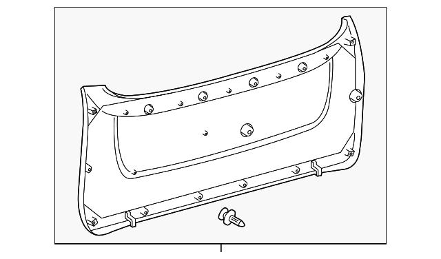 lift gate trim