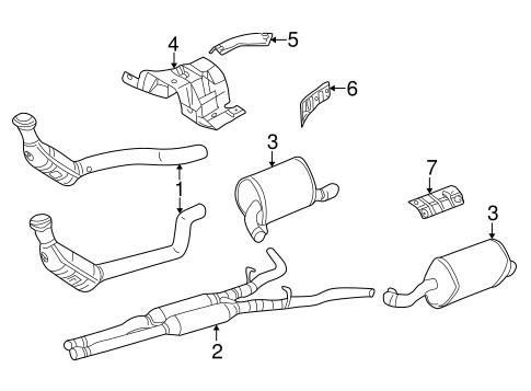 Exhaust Components For 2007 Jaguar S Type