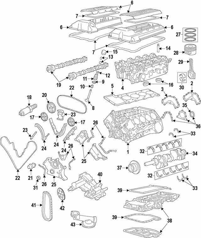 BMW 525i M3 318i 318is 318ti 328i Z4 Z8 X3 Genuine Valve Spring Retainer