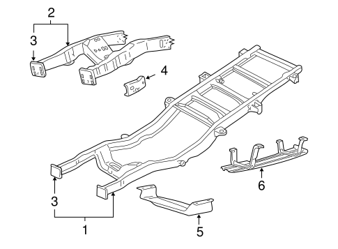 Body/Frame & Components for 2005 Ford F-350 Super Duty #2