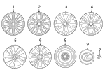 Wheel, Alloy - Lexus (42611-78231)