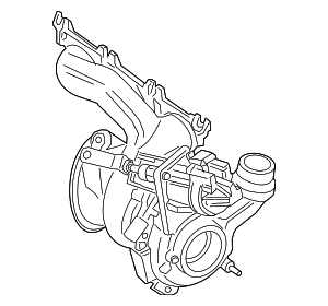 Turbocharger - BMW (11-65-7-625-161)