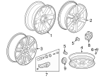 Wheel Nut - GM (9596070)