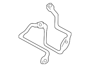 Mud Guard Bracket - Mazda (1F20-53-814)