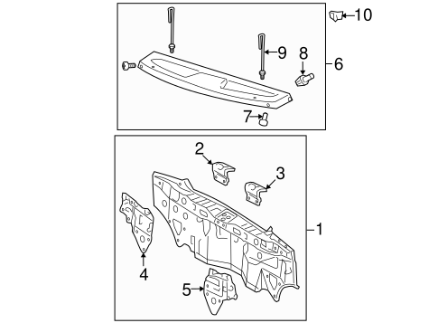 Rear Body Panel Gusset