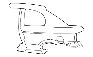 Quarter Panel Right[pass] - Hyundai (71504-252D1)