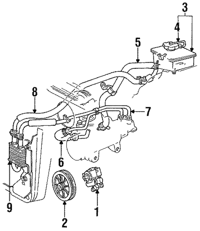 Reservoir Assembly Cap Ford F23z3a006a: 2004 Ford Taurus Steering Column Diagram At Sergidarder.com