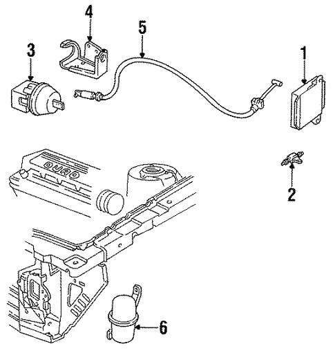 [DIAGRAM_0HG]  Cruise Control for 1994 Buick Skylark | GMPartOnline | Buick Cruise Control Diagram |  | GM Parts Online