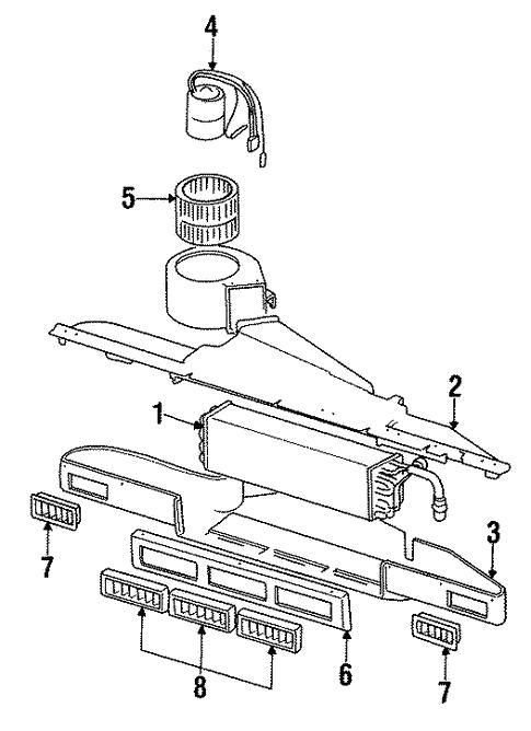 Condenser Compressor Lines For 1991 Jeep Wrangler