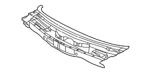 Genuine Hyundai 66760-39100 Cowl Panel