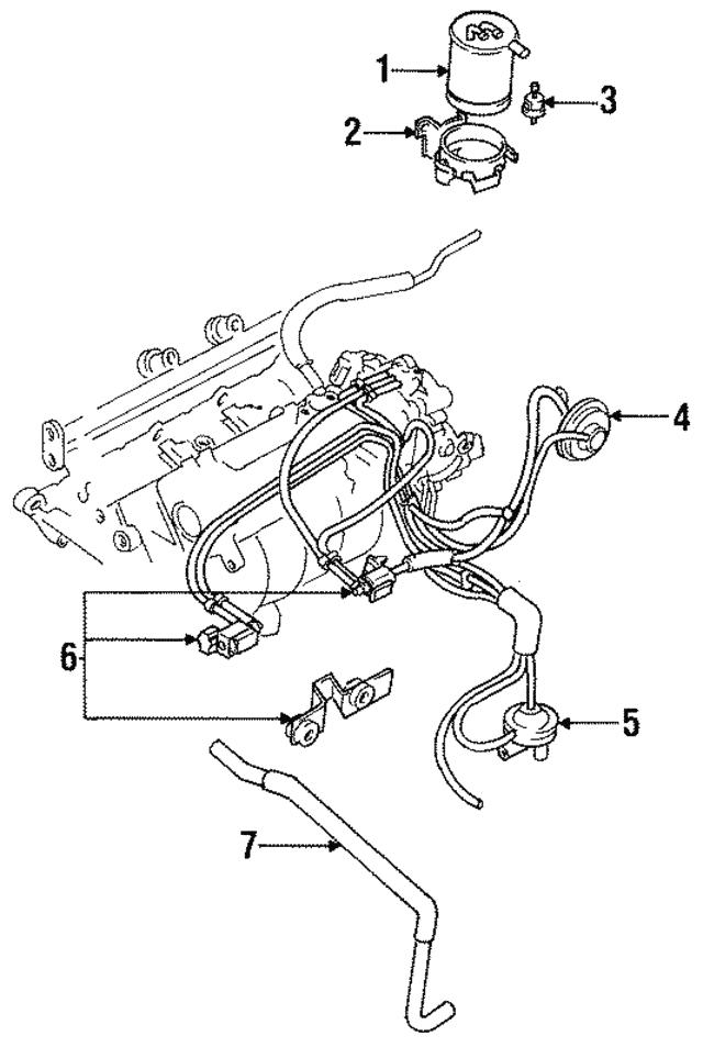 1984-1999 Mitsubishi Valve MD011227   Mitsubishi Parts Central