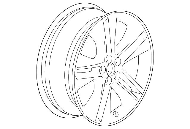 Wheel Alloy Gm 13254959 Gmpartsnow