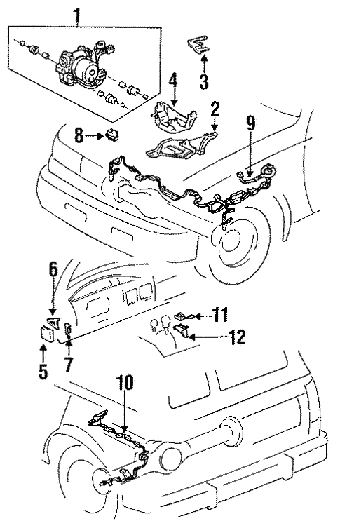 1994 Toyotum Land Cruiser Wiring Diagram