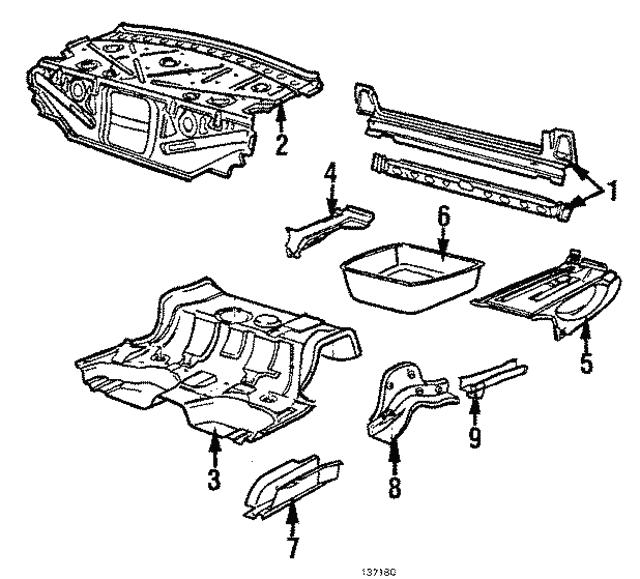 1984 1989 audi side member 443 803 652 f audiwilmingtonparts acura station  wagon 1985 audi station wagon gta wiring diagram