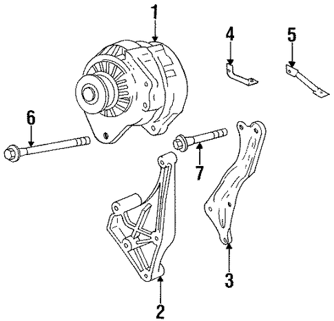 105   Alternator Wiring Diagram Gm on delco remy cs alternator wiring diagram