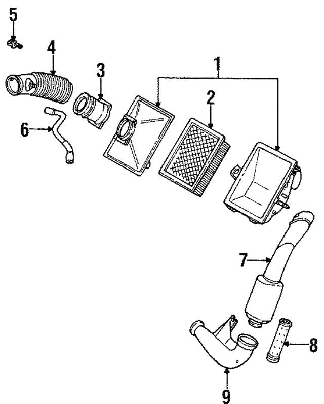 Ford Air Temp Sensor F4bz12a697ab