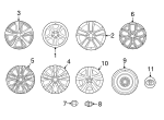 Wheel Cover - Toyota (42602-0R030)